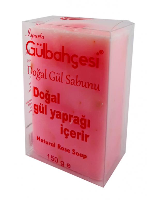 Doğal Gül Sabunu Pembe 150 GR